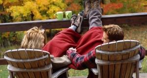 Casal Relaxando