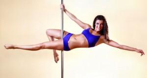 Mulher no pole dance