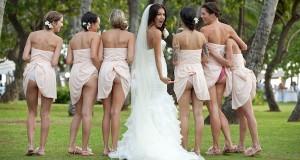 Bumbum em casamento