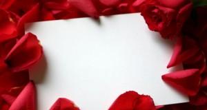 Carta de amor em branco