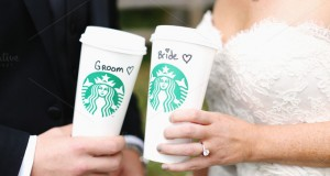 Casamento no Starbucks