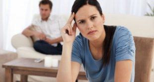 Mulher Estressada com Marido
