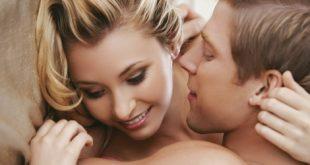 Casal sorrindo no sexo