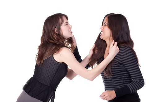Mulheres Brigando