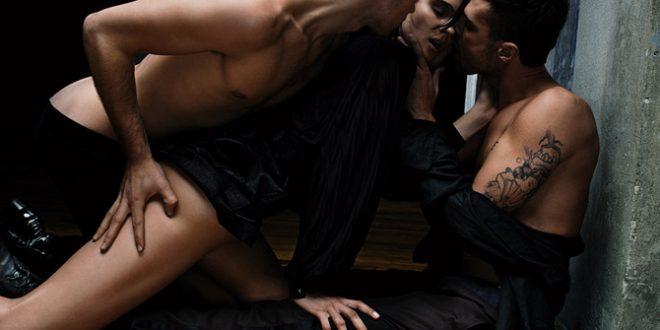 Mulher com Dois Homens