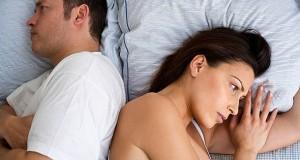 Casal com problema na cama