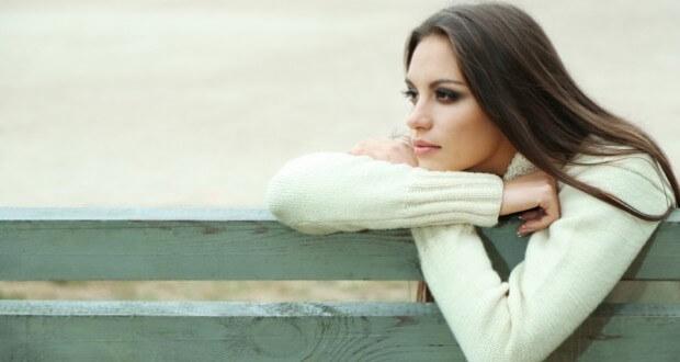 Mulher solitária