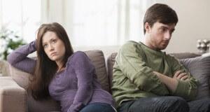 Casal descontente