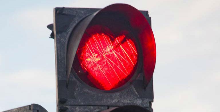 Sinal vermelho no relacionamento